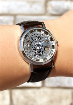 Customised Skeleton-Style Watch
