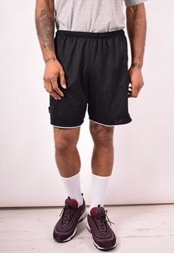 Adidas Mens Vintage Shorts Medium Black 90s