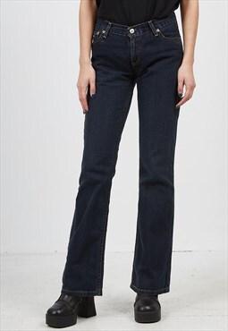 Vintage Navy LEVI'S 529 17 Fit Denim Jeans