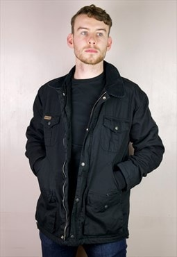 PENFIELD WORKER heavy duty black quilted jacket
