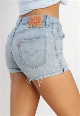 Vintage Levi's reworked denim shorts ML30