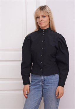 80's vintage retro skirt blouse