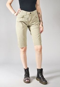 Vintage Levi's 511 Denim Shorts Khaki