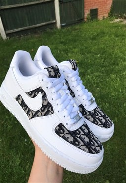 NIKE Customised Airforce 1 Dior WOMENS