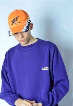 Vintage 90s Purple Sweatshirt