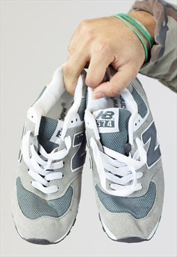 Vintage New Balance Grey Trainers