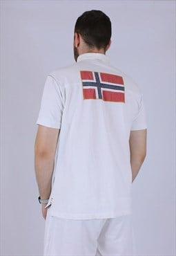 Vintage Napapijri polo shirt rare