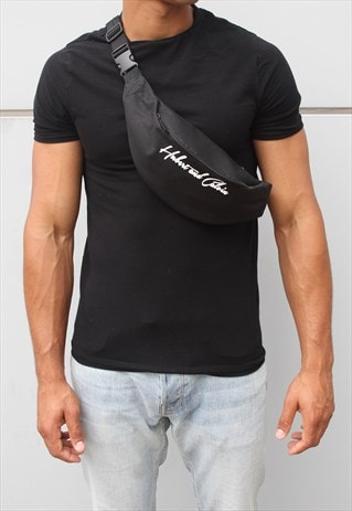 BLACK FESTIVAL BUM BAG