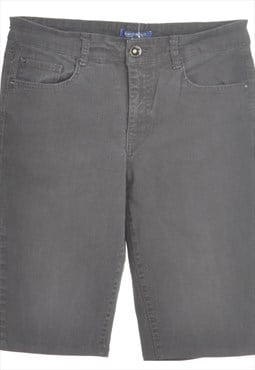 Reworked Lettie Long Denim Shorts - W32