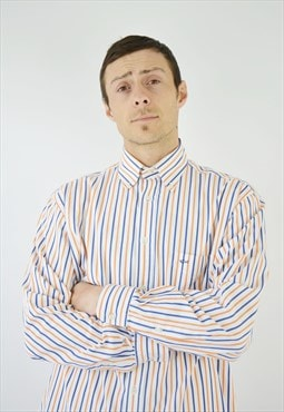 Vintage Paul & Shark Striped Shirt for men