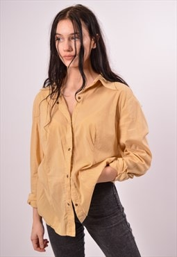 Vintage Just Cavalli Shirt Loose Fit Khaki