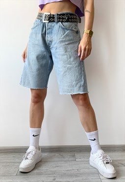 Vintage 90's Unisex Boyfriend Oversized Denim Shorts Pants
