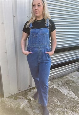 Bill Blass Vintage Denim Dungarees - L