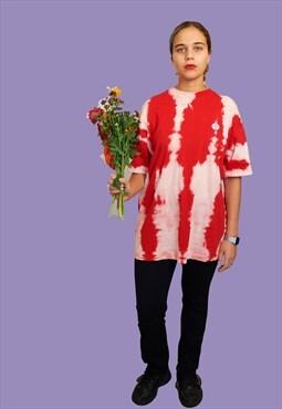 Reworked Customed Tie n Dye T-shirt