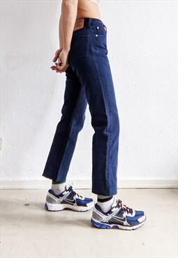 Vintage Levi's 501 denim trousers raw cut edge