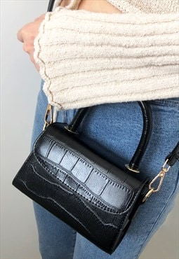 Mini Top Handle Crossbody Bag