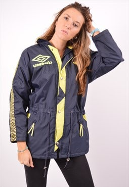 Vintage Umbro Windbreaker Jacket Navy Blue