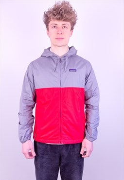 Vintage Patagonia Jacket in Red & Grey