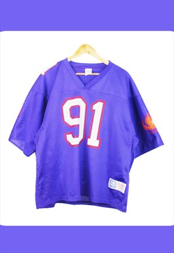 Vintage Purple 'Frankfurt Galaxy' NFL Top