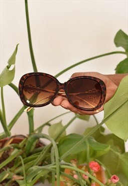 Vintage dragonfly sunglasses in tortoiseshell