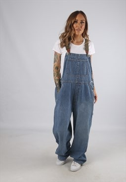 Vintage Denim Dungarees BICH REWORKED Gap UK 18 (9AW)