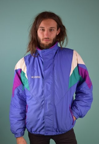 VINTAGE 90'S COLUMBIA PADDED SPORTS COAT