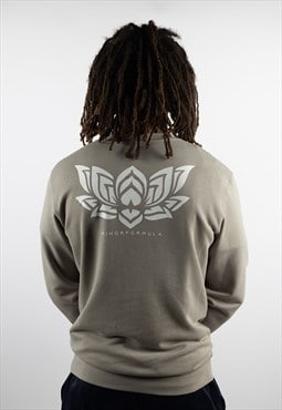Grown Lotus Organic Sweatshirt - Grey