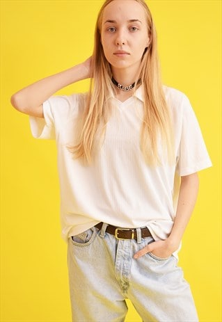 90'S RETRO DESIGNER NEUTRAL OVERSIZED T-SHIRT TOP TEE