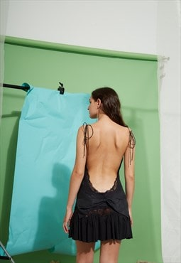 RARE Manoush Backless Dress