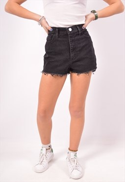 Vintage Lee Denim Shorts Black