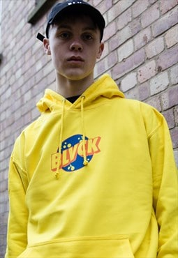 NEW IN - Retro Soda Pop Yellow Hoodie