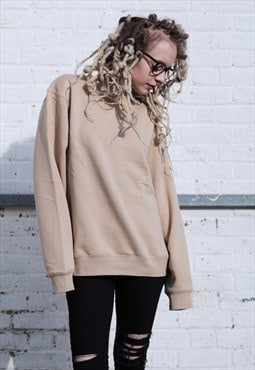 Heavyweight Soft Touch Sand Beige Sweatshirt