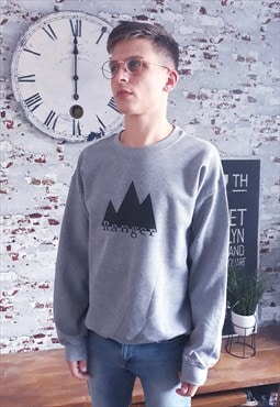 Ranger graphic print grey sweatshirt
