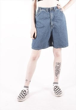 Vintage Lee Light Blue High Waisted Denim Shorts /MM2514