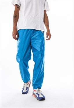 Vintage ADIDAS ORIGINALS Tracksuit Pants 90s Blue