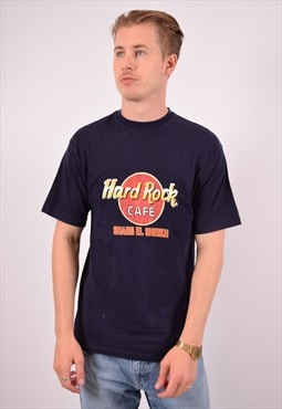 Vintage Hard Rock Cafe Sharm El Sheikh T-Shirt Top Navy Blue