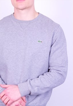 Vintage Lacoste Sweatshirt in Grey
