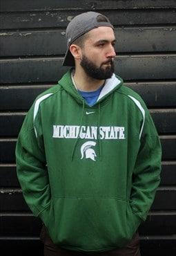 Vintage Nike Michigan State USA College Hoodie