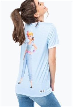 Toy story blue bo peep women's t-shirt