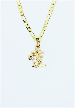 Chinese sign AI necklace