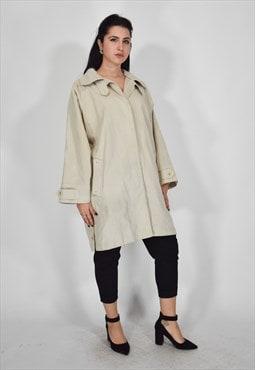 Aquascutum beige trench coat