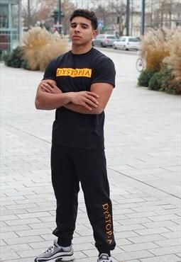 Jogger baad black  DYSTOPIA (Orange is the new BAAD)