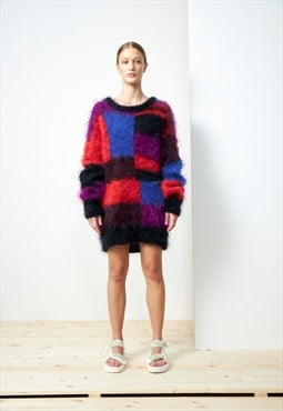 Vintage 80s fluffy jumper