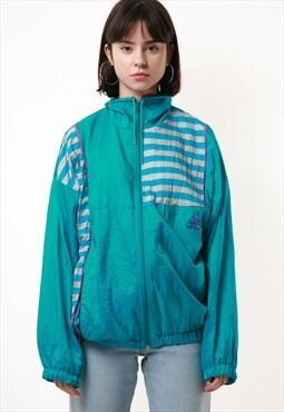 Vintage Vtg Rare Puma Shell Jacket Logo Oversized 12965