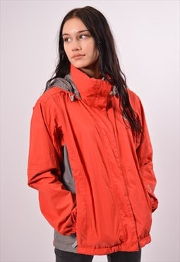 Vintage The North Face Rain Jacket Red