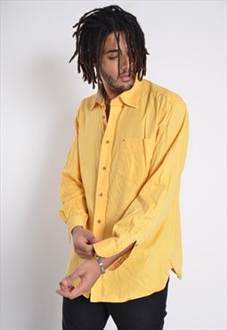 Vintage Tommy Hilfiger Long Sleeve Shirt Yellow