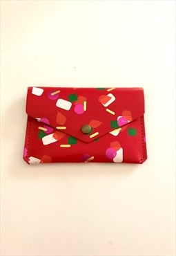 Red Purse ARK made in Scotland