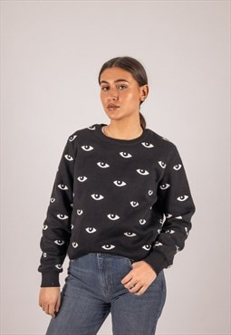 Kenzo Eye Sweatshirt in Black