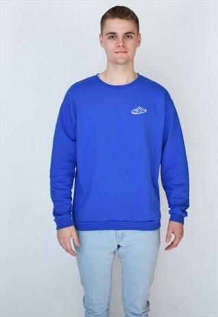 BLUE SANDAL (WHITE) SWEATSHIRT