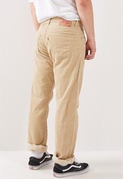 Vintage Levi's 551 Straight Leg Corduroy Trousers